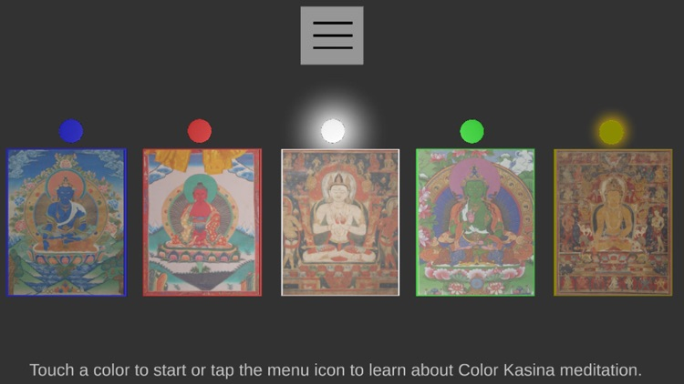 VR Color Kasina Meditation
