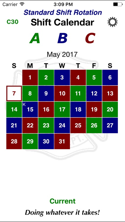 Shift Calendar screenshot-2