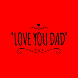Fathers Day Stickers - Quotes 4 celebrating Daddy