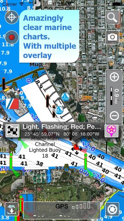 Aqua Map USA HD Pro - GPS Offline Nautical Charts app image