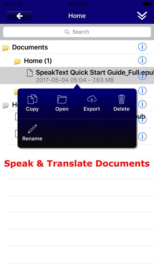 SpeakText for Office App 截图