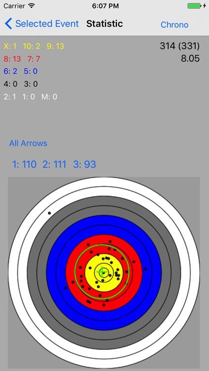 AAA - Archery Analysis App screenshot-4