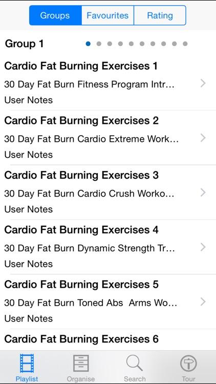 Cardio Fat Burning Exercises