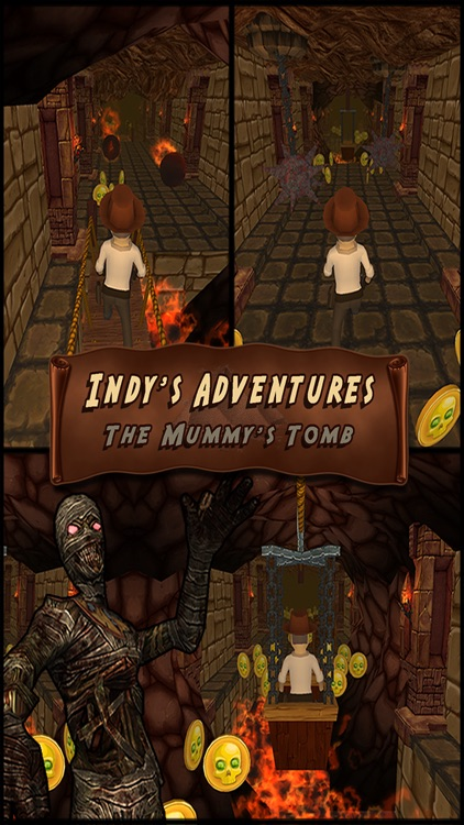 Indy's Adventures: The Mummy's Tomb screenshot-0