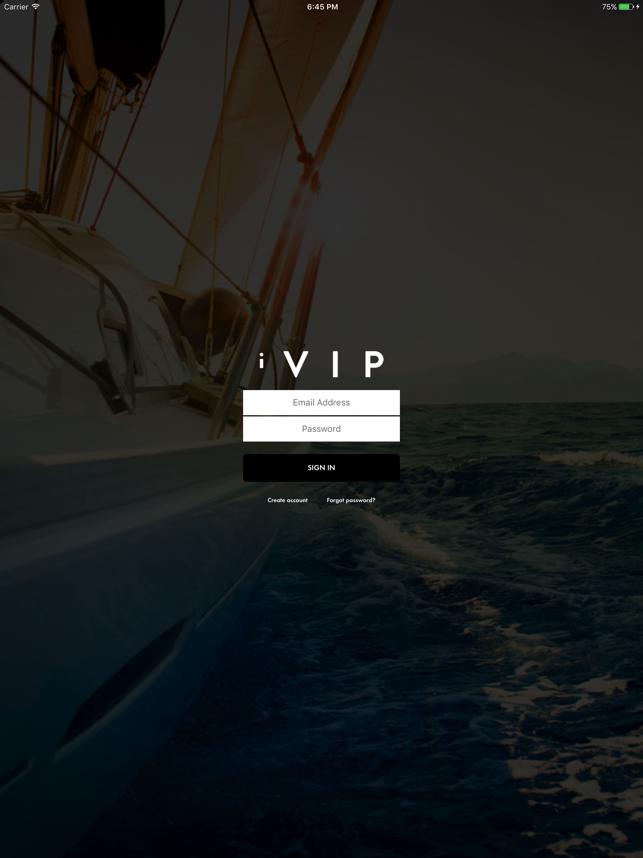 iVIP Black Screenshot