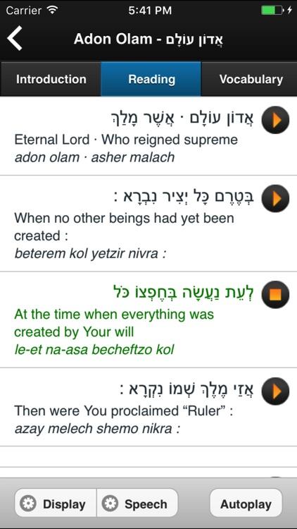 Learn Hebrew Pod screenshot-4
