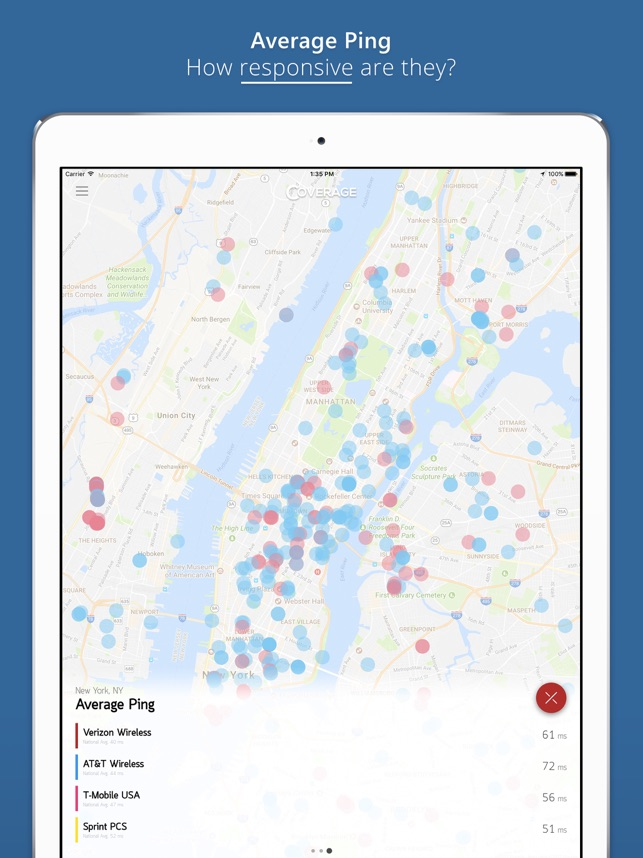 LTE Speed Coverage Map on the App Store