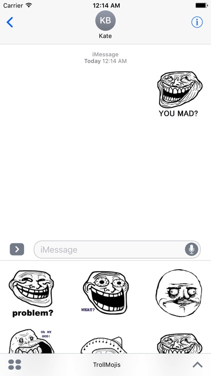 TrollMojis - Funny Emojis And Stickers