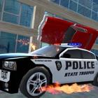 4x4 Mad Police Car Racing e Crimine Città icon