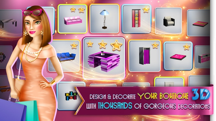 My Boutique Fashion Shop Game screenshot-4
