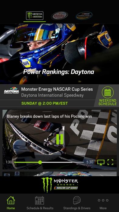 NASCAR MOBILE app image