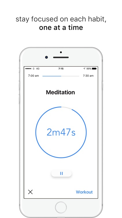 Morning Routine : Daily Habit Timer and Tracker