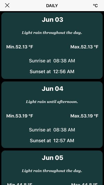 Weather Live Information APP- Klimate screenshot-4