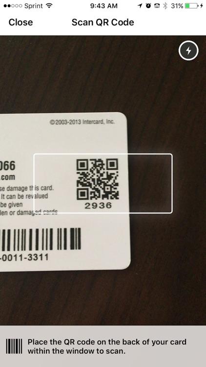Intercard Service App
