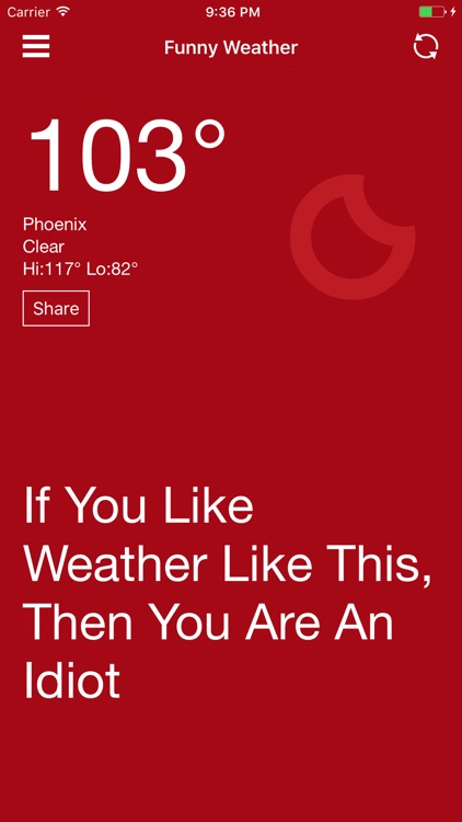 The Funny Weather screenshot-1