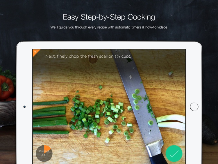 SideChef HD: Step-by-step cooking