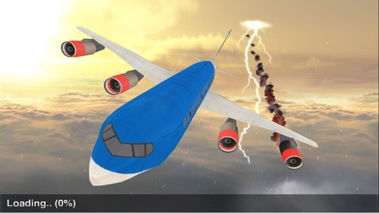Airplane Pilot Flight Simulator 3D screenshot-3