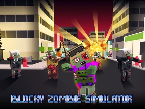 Blocky Zombie Simulator screenshot 5
