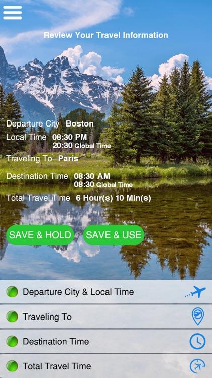 Uplift App: Travel Without Jetlag