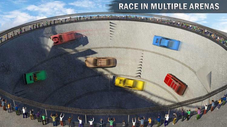 Death Well Demolition Derby - Stunt Car Crash Test screenshot-4