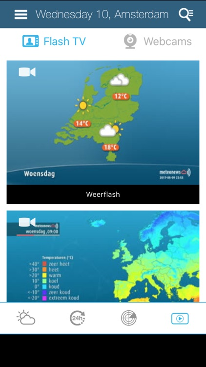 Weather for the Netherlands screenshot-4