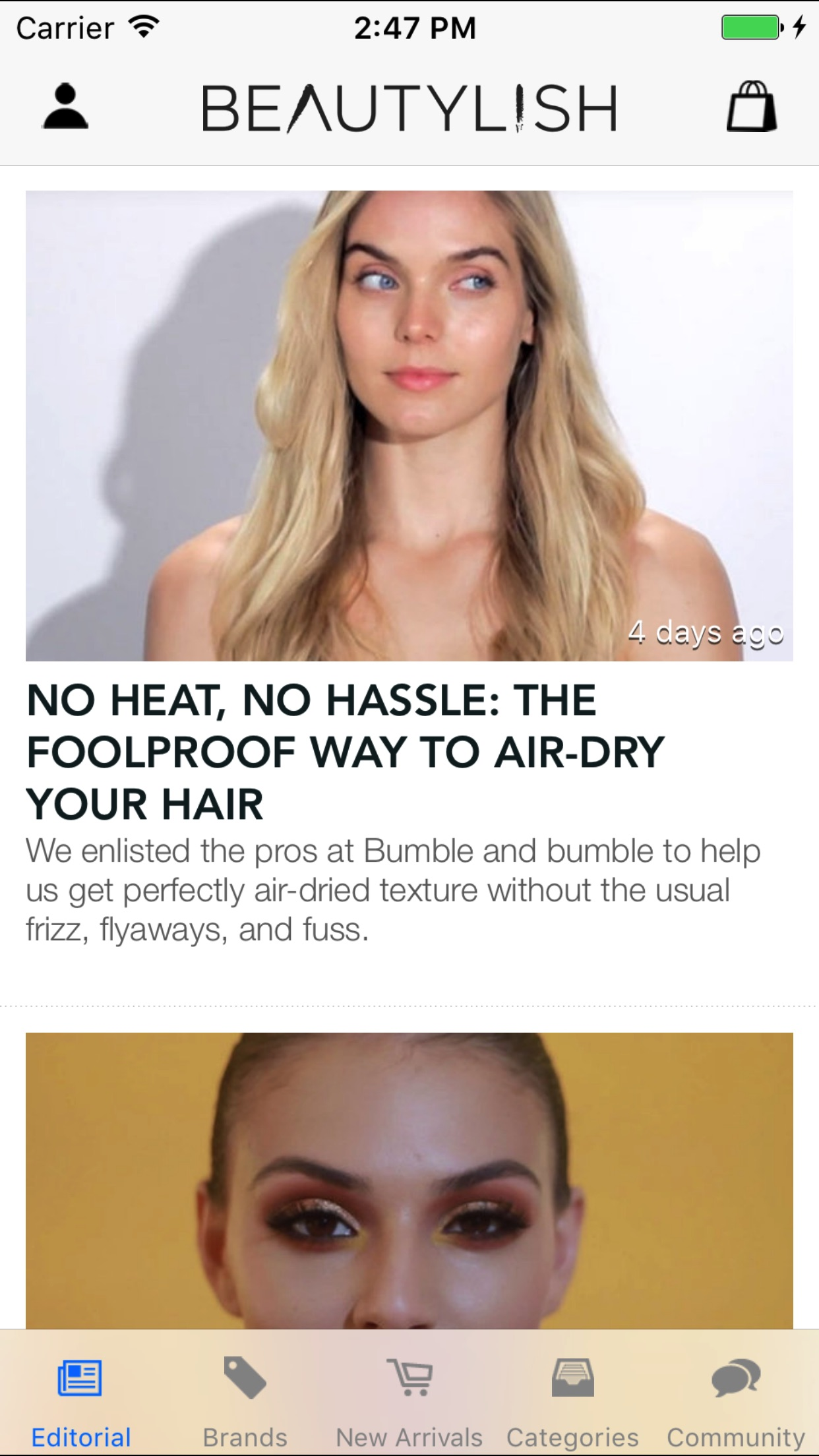 Beautylish - Beauty Tips, Makeup and Hairstyles Screenshot