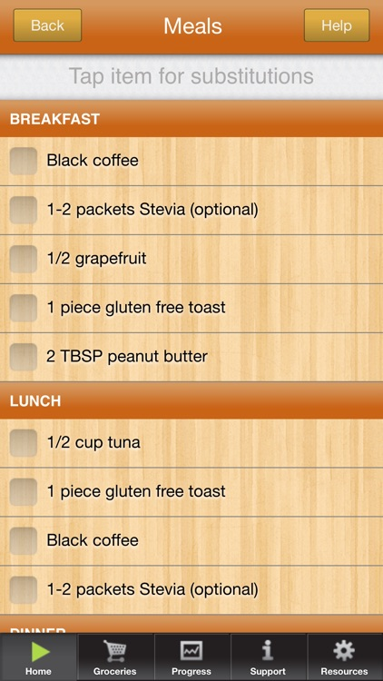 3 Day Diet Gluten Free screenshot-1