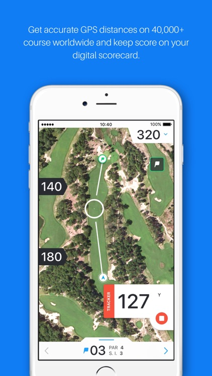 Golf GPS, Scorecard & Tee Time Booking - Hole19 app image