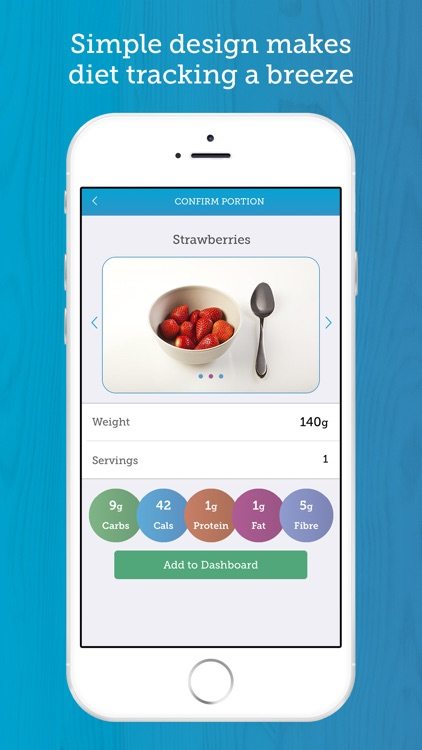 Carbs & Cals: Visual counter for diet & diabetes screenshot-2