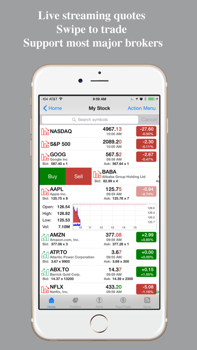 Stocks Pro : Real-time stock Screenshot