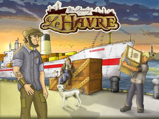 Screenshot #1 for Le Havre (The Harbor)
