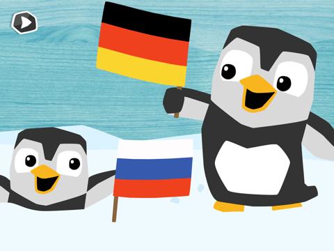 LinguPinguin Русский Немецкий на iPad