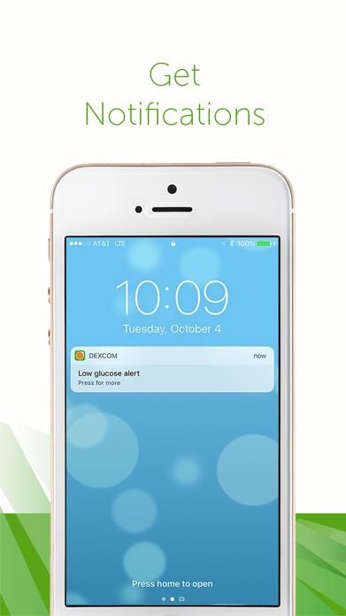 Dexcom G5 Mobile Screenshot