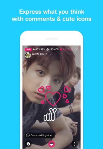 V LIVE - Broadcasting App screenshot 3