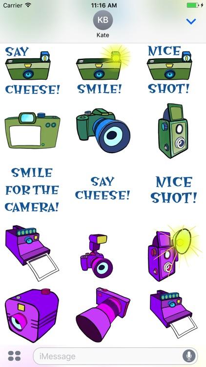 Photo Fun Camera Stickers screenshot-3