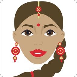 Indian Wedding Stickers