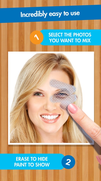 FACEinHOLE FaceMixer