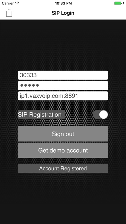 VaxPhone - SIP based softphone screenshot-1