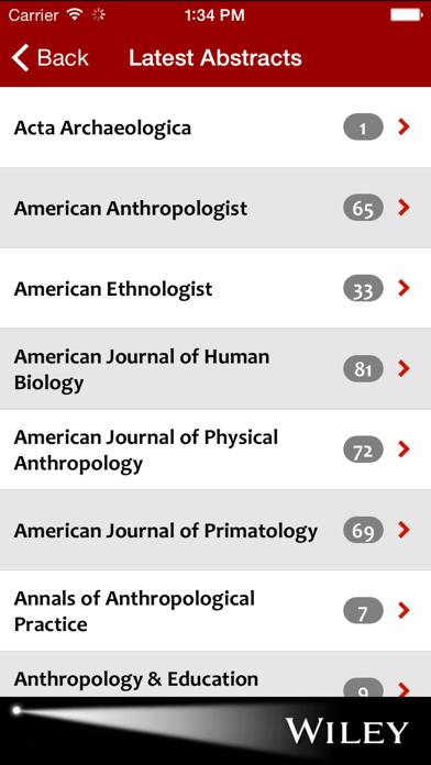 Anthropology Spotlight screenshot two