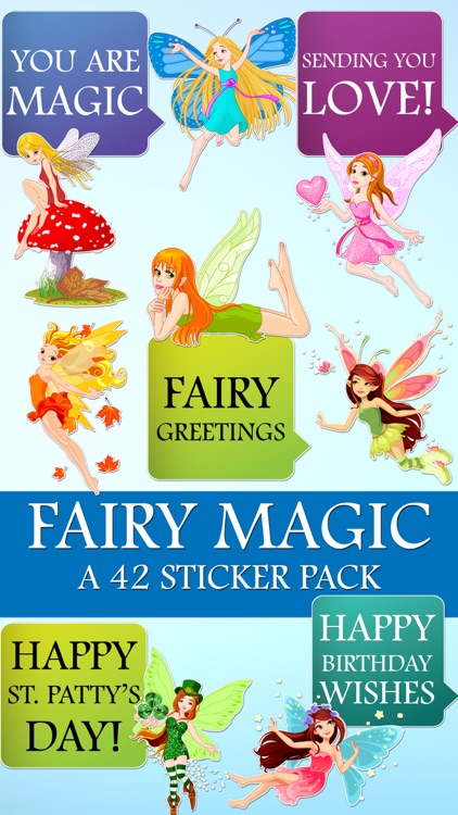 Magic Fairy Messages A Magical Sticker Pack