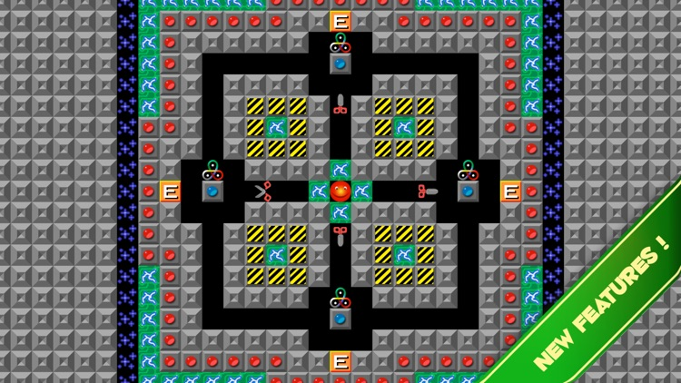 Supaplex SQUARES screenshot-1