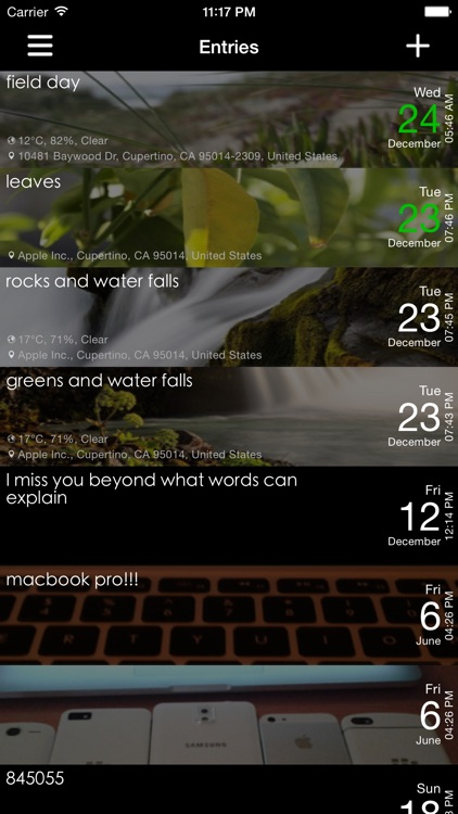 Dayly - Diary, Journal, Notes, Pictures