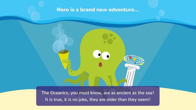 Math Tales Ocean: stories and games for kids screenshot-0