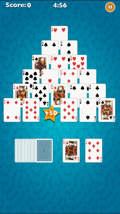 Pyramid-Solitaire