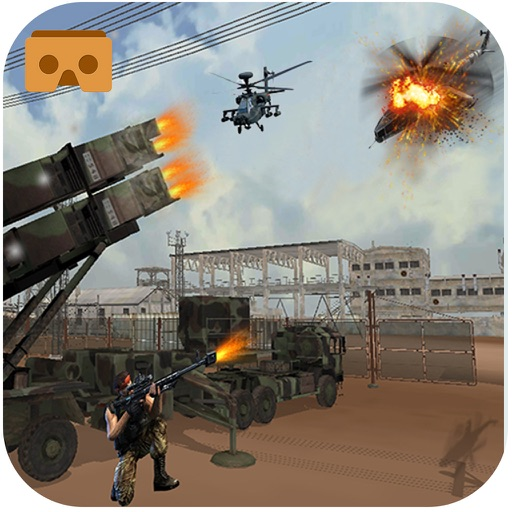 VR Anti Aircraft Patriot Gunner Strike Action Game