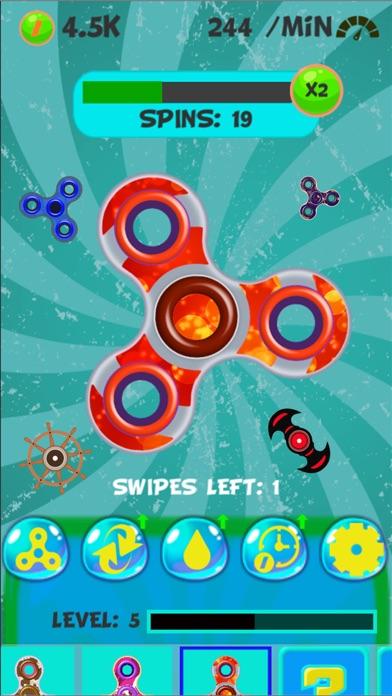 New Fidget - Finger spinner games screenshot three