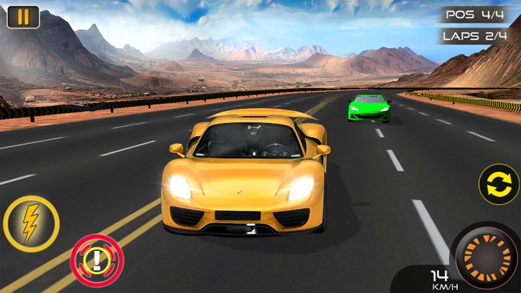 Island Speed Car Racing  - extreme driving