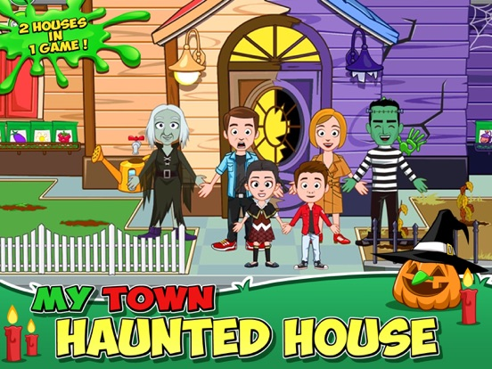 My Town : Haunted House на iPad