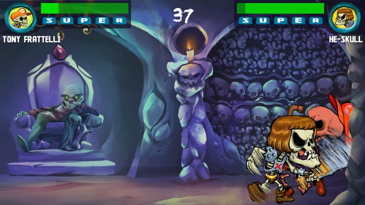 Old Skull Fighters: Bone-Chilling screenshot-3