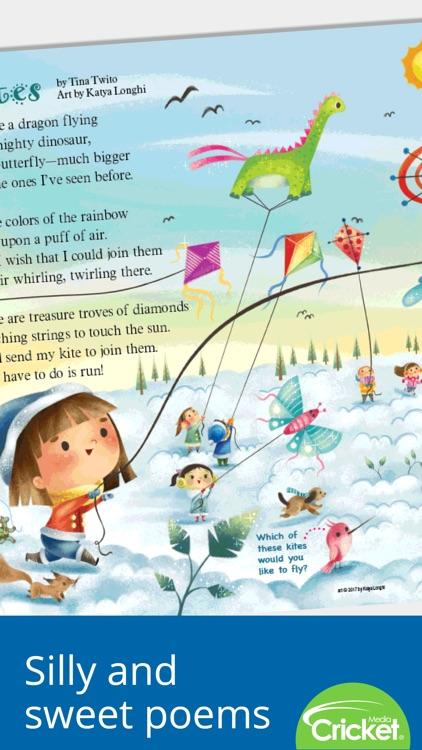 Ladybug Magazine: Fun stories and songs for kids screenshot-4